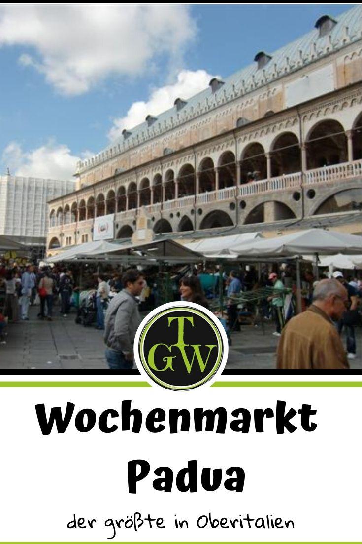 Wochenmarkt in Padua - der größte in Oberitalien #wochenmarkt #padua