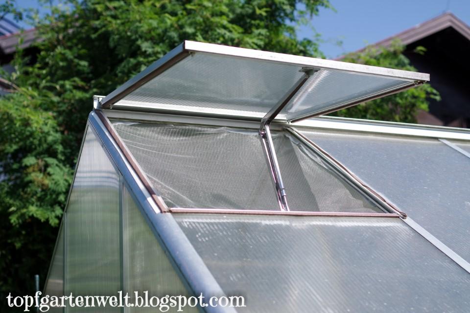 Insektenschutznetz für Gewächshausfenster | Schutz vor Gemüseeule - Gartenblog Topfgartenwelt