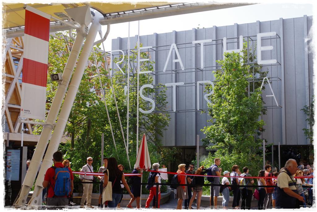 Austria Pavillion EXPO 2015 - Blog Topfgartenwelt