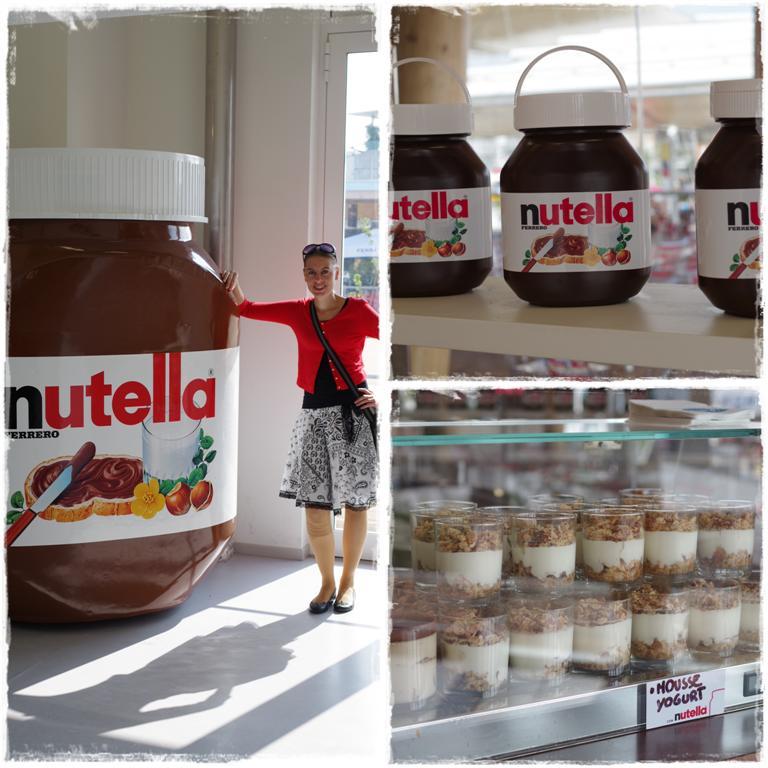 Nutella-Stand bei der EXPO 2015 in Mailand - Blog Topfgartenwelt
