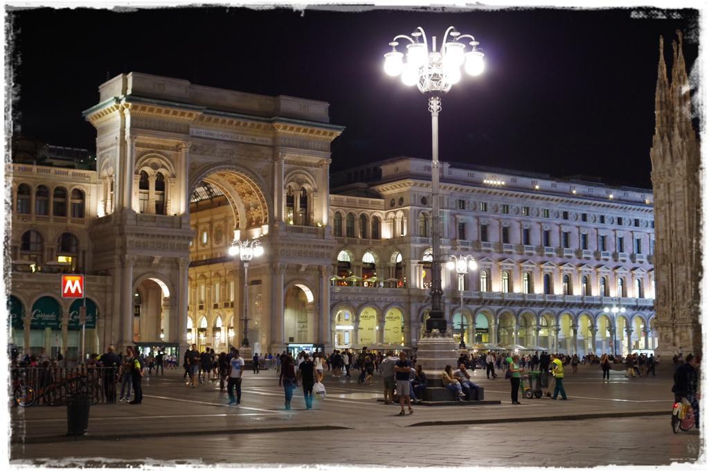 Hauptplatz von Mailand - Blog Topfgartenwelt