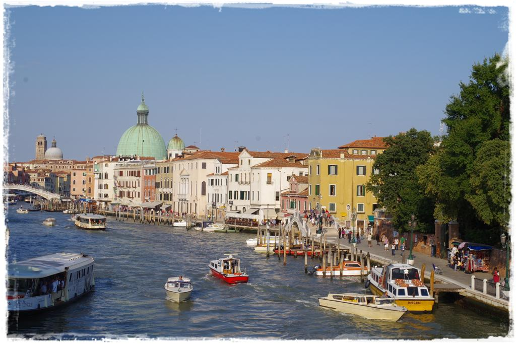 Canale Grande Venedig - Blog Topfgartenwelt