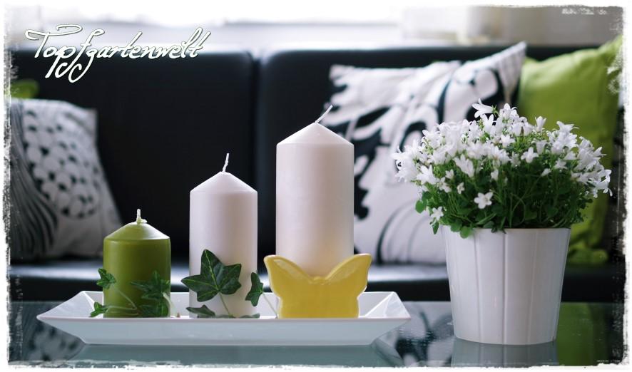 Kerzen von IKEA - Gartenblog Topfgartenwelt
