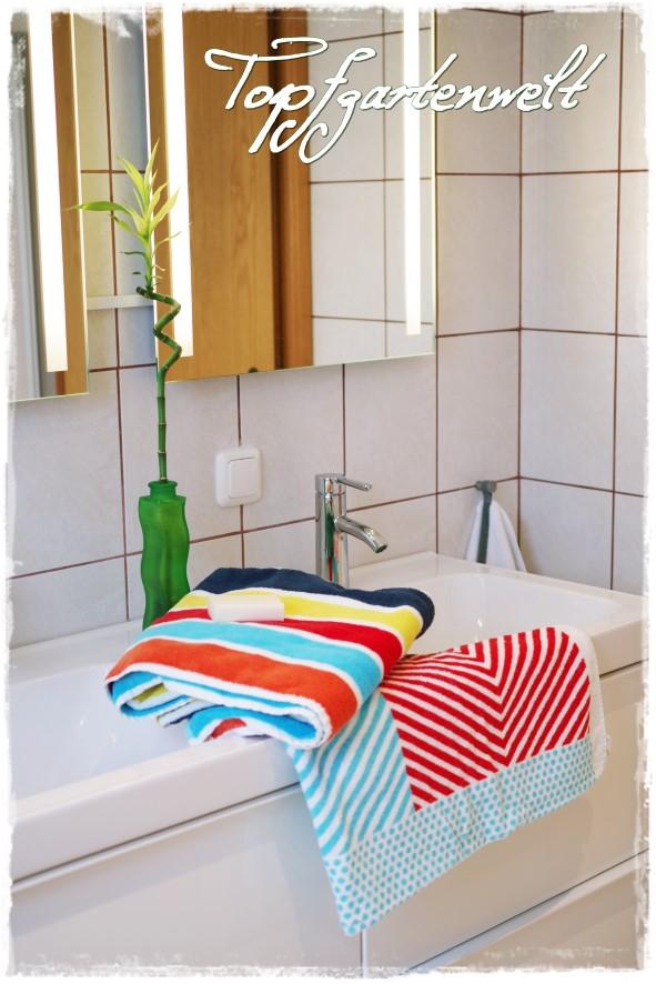 Badehandtücher von IKEA - Gartenblog Topfgartenwelt