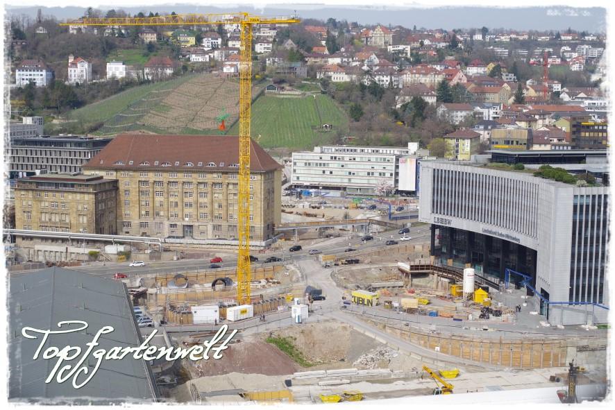 Baustelle Stuttgart 21 - Blog Topfgartenwelt
