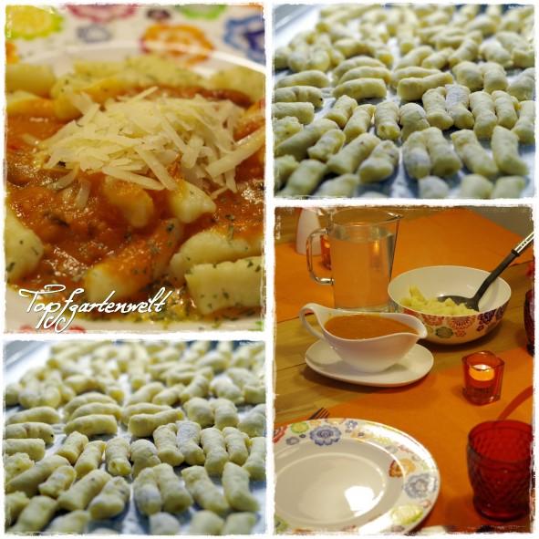 selbstgemachte Kartoffelgnocchi
