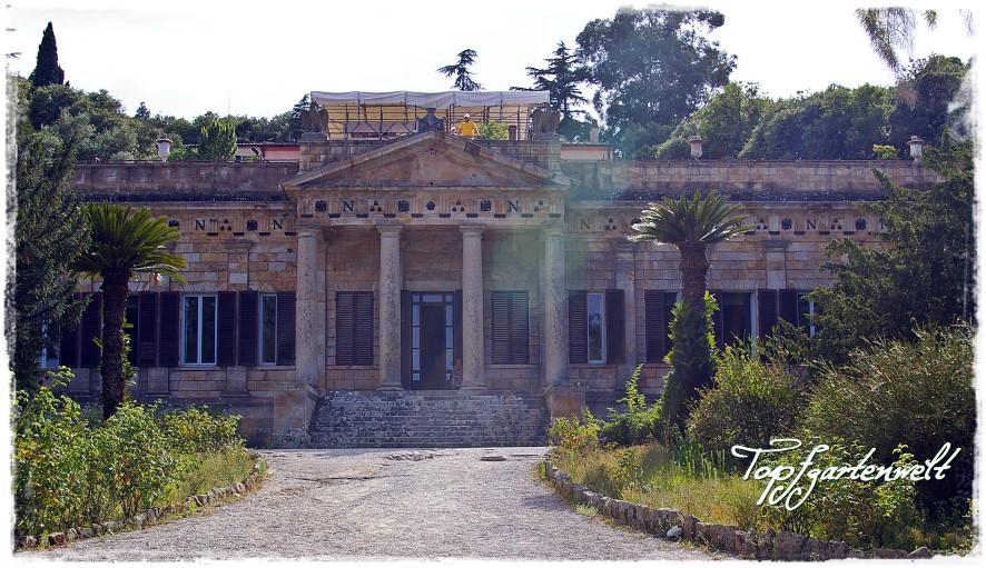 Villa von Napoleon auf Elba