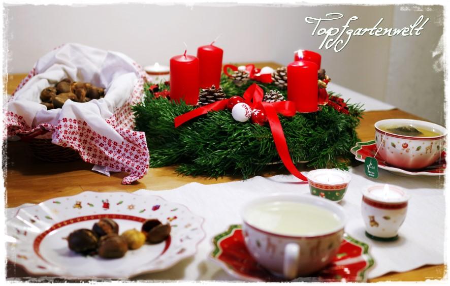 Wintertraum und Weihnachtszeit – Deko und Rezepte!