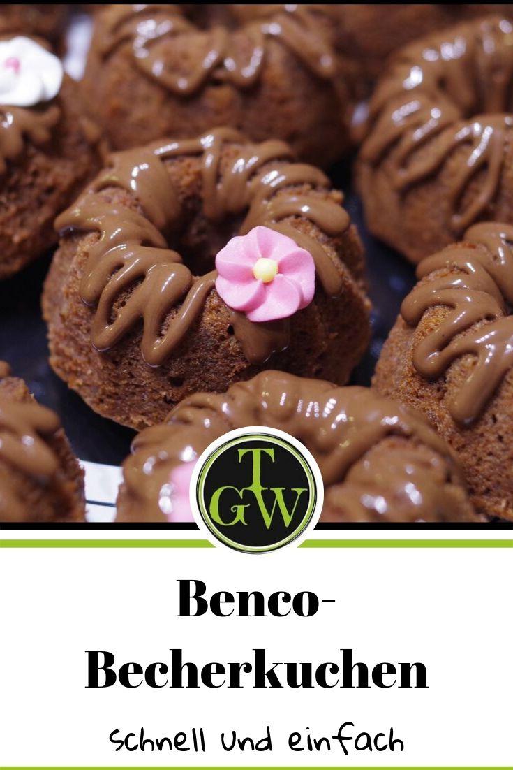 Benco Becherkuchen mit Walnüssen - schnell und einfach #becherkuchen #benko #backen