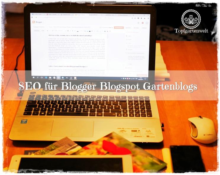 SEO Gartenblog: Umsetzung!