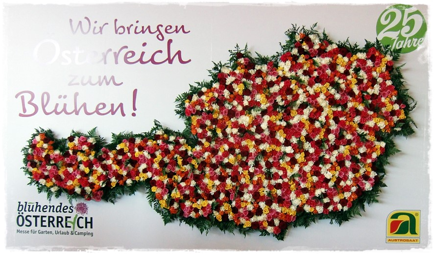 Gartenmesse: Blühendes Österreich 2017 – Wels!