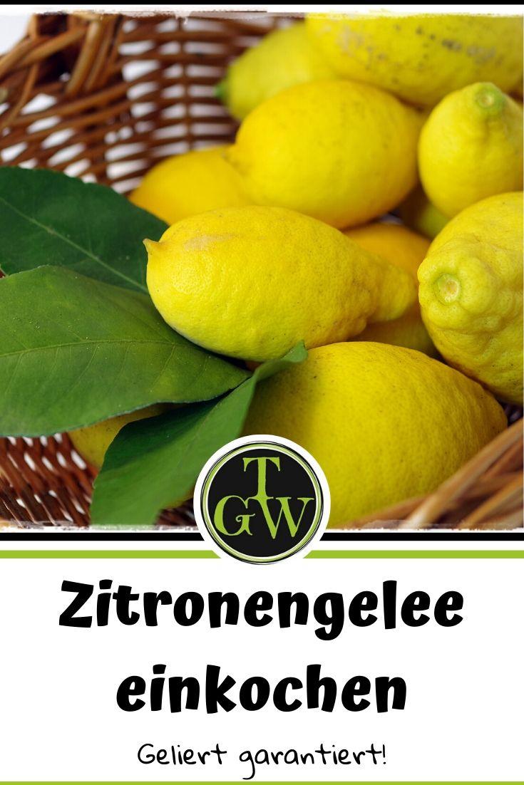 Rezept Zitrongengelee gelingsicher einkochen #zitronengelee