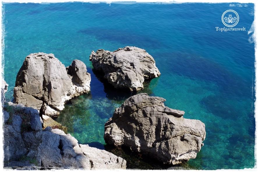 Gartenblog Topfgartenwelt Kroatien: Felsen beim Lungo Mare