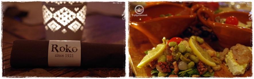 Gartenblog Topfgartenwelt Kroatien: Fischplatte im Restaurant Roko in Opatija