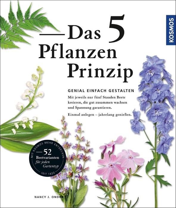 Gartenblog Topfgartenwelt Buchvorstellung Das 5-Pflanzen Prinzip - Genial einfach gestalten: Buch über Gartengestaltung, Beetanlage und Pflanzen