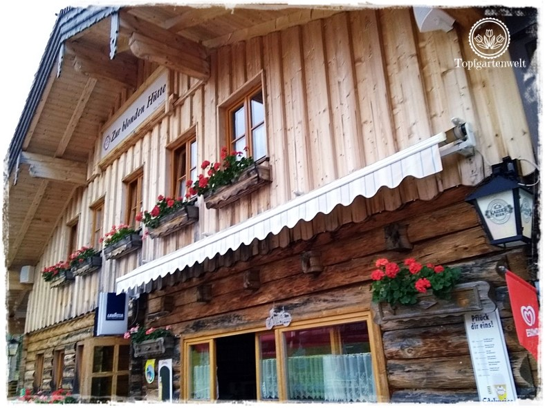 Gartenblog Topfgartenwelt Salzburg Almhütten: Blonde Hütte Postalm