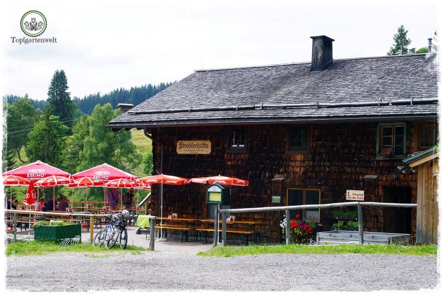 Gartenblog Topfgartenwelt Salzburg Almhütten: Stroblerhütte Postalm