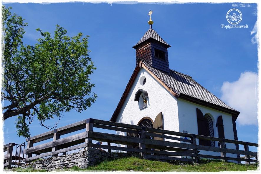 Gartenblog Topfgartenwelt Salzburg Almhütten: Kirche auf der Postalm