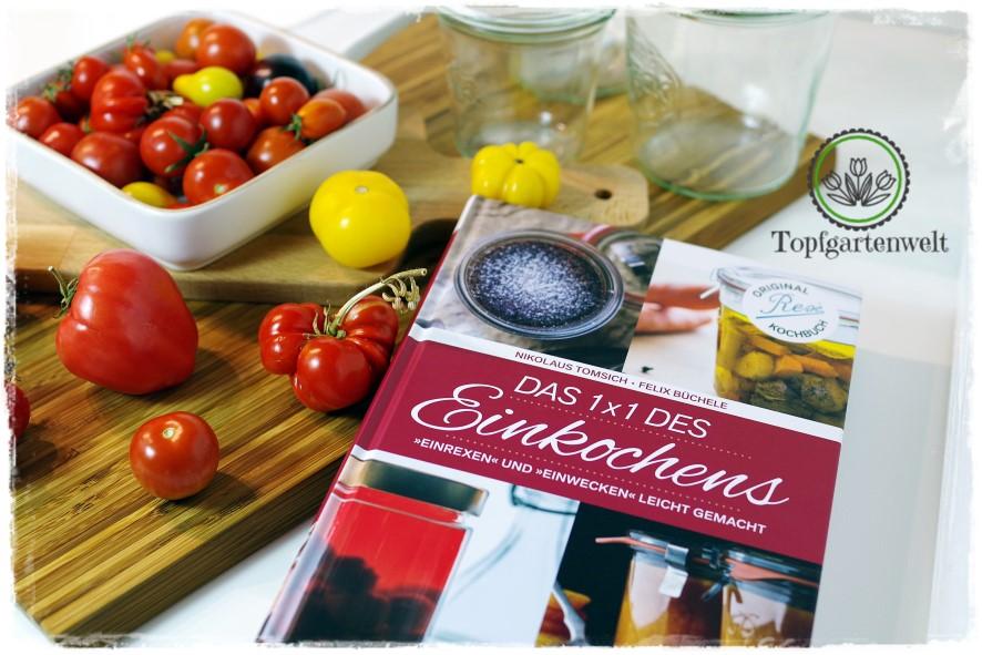 Tomatensugo nach italienischer Art einwecken aus Das 1×1 des Einkochens!