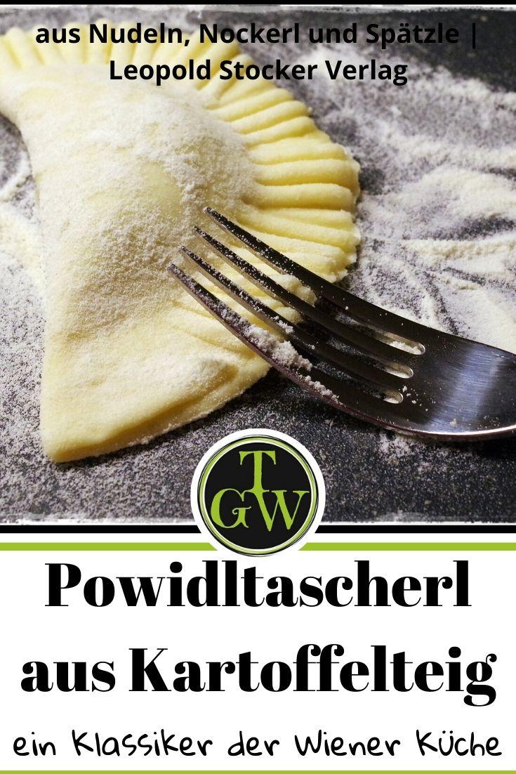{Buchrezension mit Rezept} selbstgemachte Powidltascherl #powidltascherl #wienerküche #erdäpfelteig #dessert #hausmannskost #österreichischeschmankerl - Foodblog Topfgartenwelt