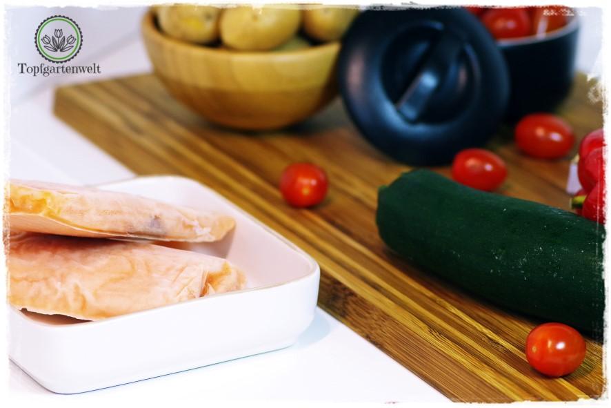 Gartenblog Topfgartenwelt Buchvorstellung Blech-Kochbuch 1 Blech 50 Rezepte: Kochbuch für einfache schnelle Rezepte aus dem Ofen