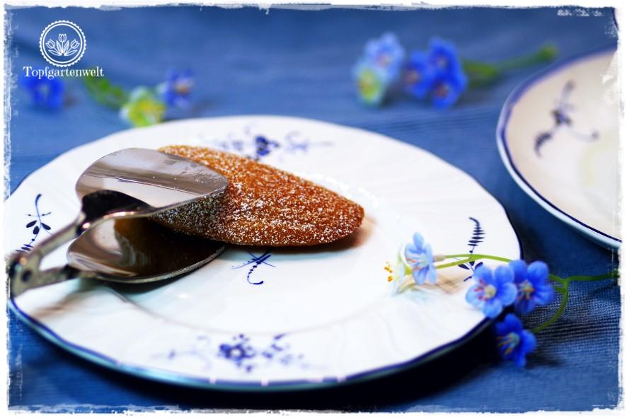 Saftige Madeleines ohne Mandeln aus Französisch Backen!