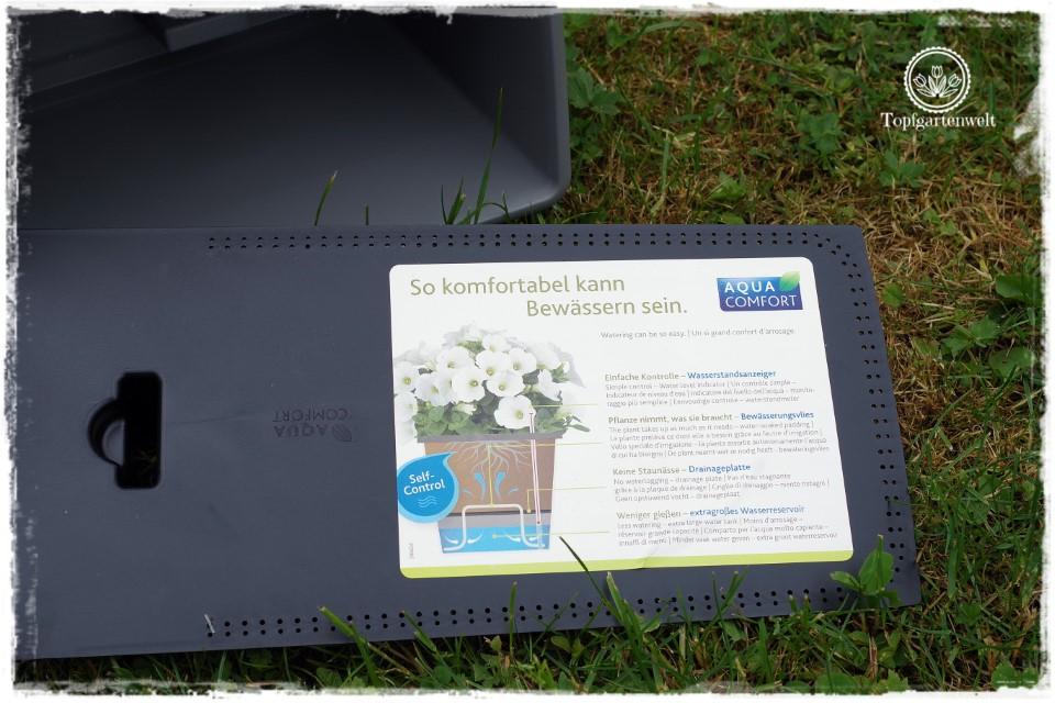 Food- und Gartenblog Topfgartenwelt Produkttest EMSA My City Garden mit Aqua Comfort-System - Bewässerungssysteme für Balkonkästen im Vergleich