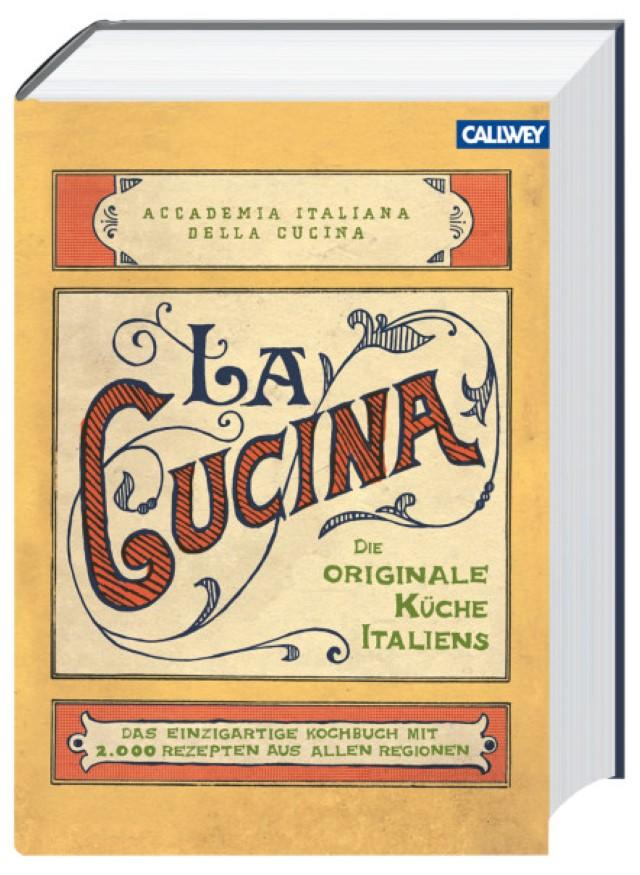 Buchtipp La Cucina - die originale Küche Italiens mit Rezept für Tagliatelle mit Zucchini, Paprikaschoten und Tomaten - Foodblog Topfgartenwelt