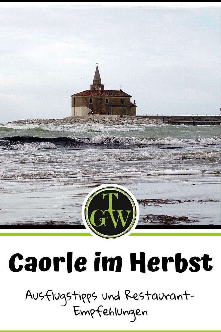 Caorle im Herbst - das kannst Du unternehmen #caorle #herbst #adria #herbsturlaub #ausflugsziele #sealifeaquariumjesolo #gutessen #einkaufen