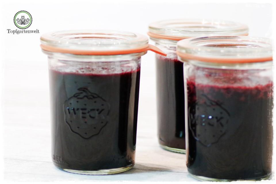 schnelle Heidelbeermarmelade verfeinern mit Orangen und Lavendel - Foodblog Topfgartenwelt