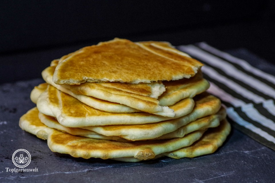 Indische Küche - Familienrezepte von Meera Sodha - Naan Brot - Foodblog Topfgartenwelt