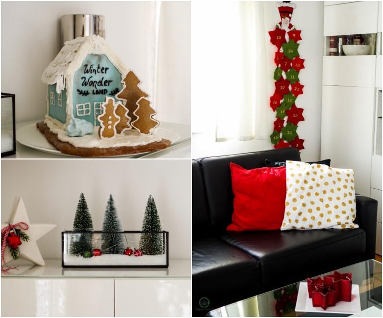 Weihnachtsdekoration festlich dekoriertes Wohnzimmer für Weihnachten - Blog Topfgartenwelt
