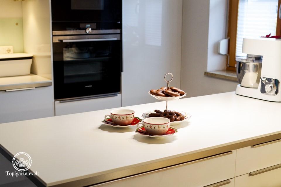 weihnachtliche schlichte Dekoration für die Küche - Blog Topfgartenwelt