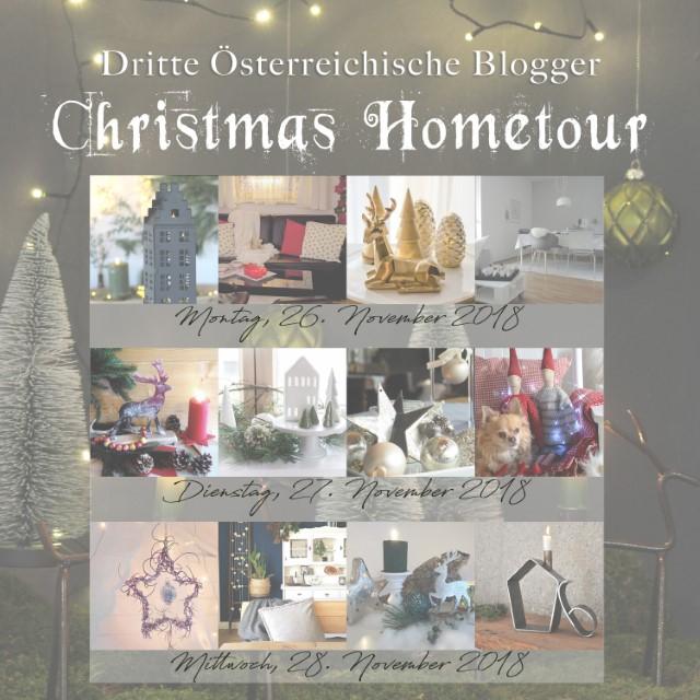 Dritte österreichische Blogger Christmas Hometour - 12 Bloggerinnen zeigen ihr weihnachtlich geschmücktes Zuhause - Blog Topfgartenwelt