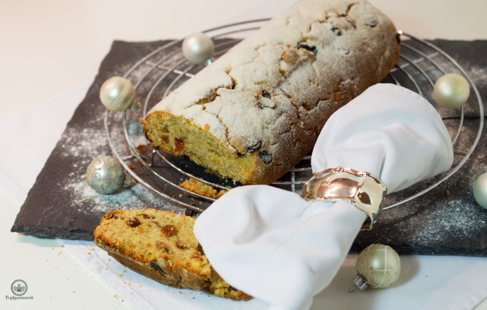 Christstollen ohne Marzipan aus Weihnachten – Das Goldene von GU!