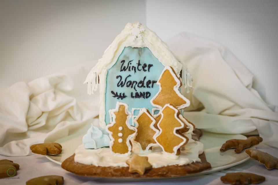 Lebkuchenhaus zwar nicht perfekt aber mit Liebe gemacht - Foodblog Topfgartenwelt