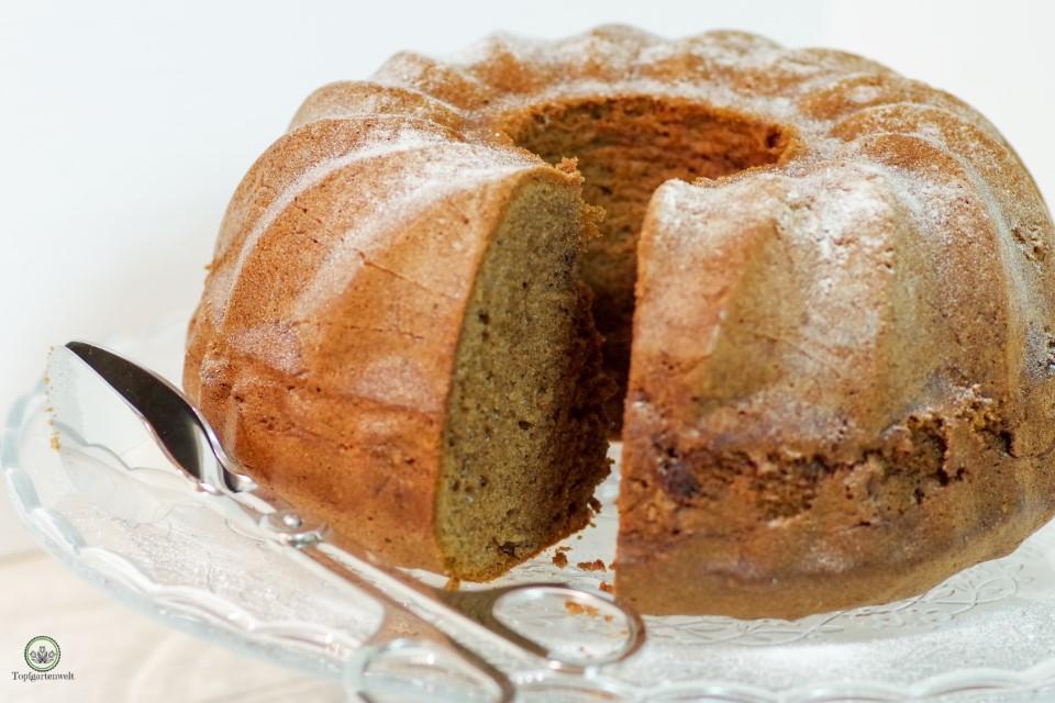 Schoko-Gugelhupf mit Butter - Foodblog Topfgartenwelt