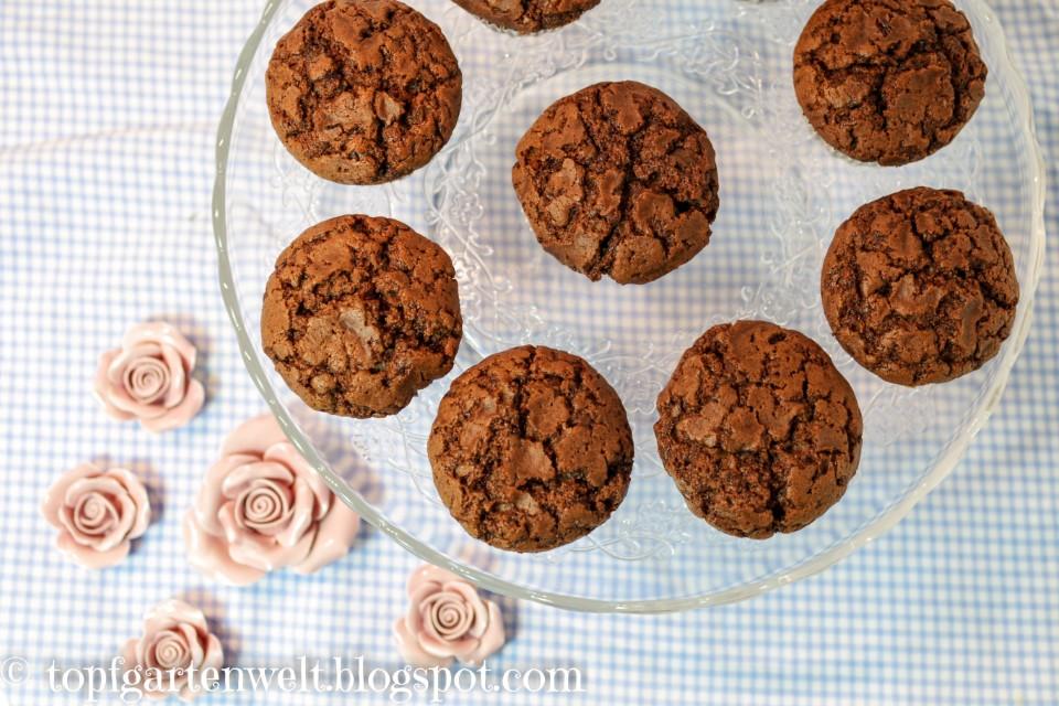 Schoko-Muffins schnell - Foodblog Topfgartenwelt
