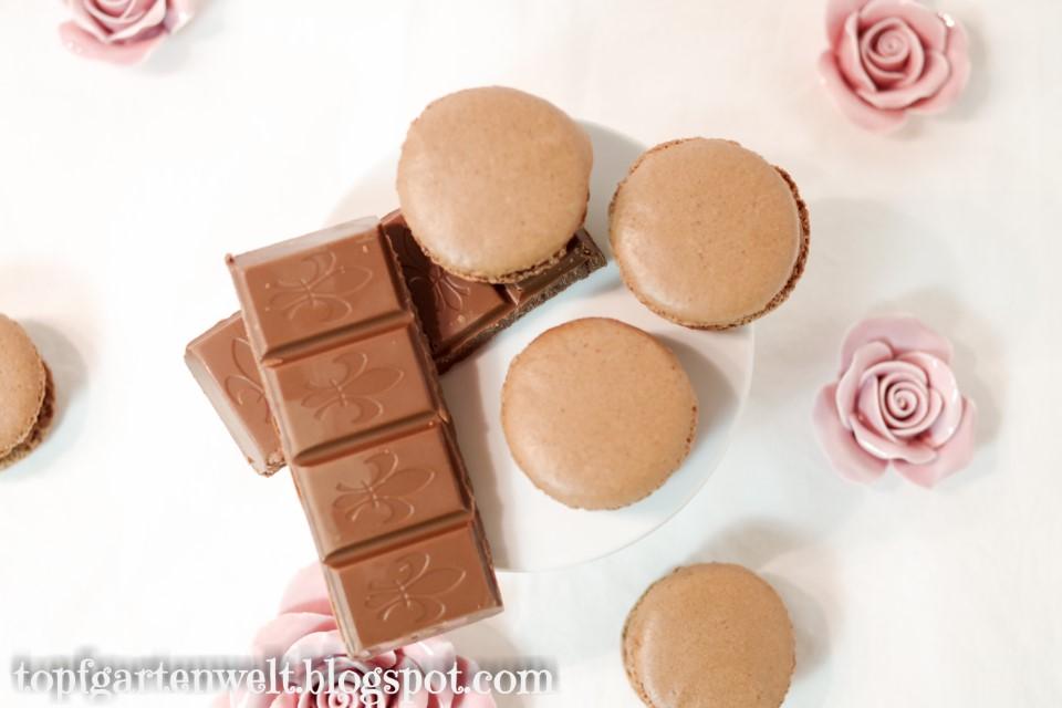 Schokomaracons mit Schokoladenganache | Rezept - Foodblog Topfgartenwelt
