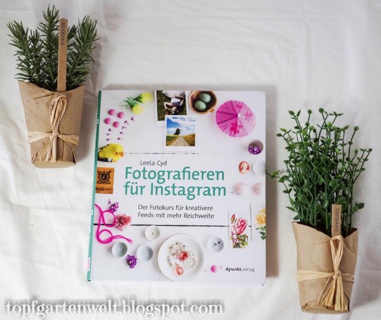 Buchvorstellung   Buchrezension   Fotografieren für Instagram - Blog Topfgartenwelt