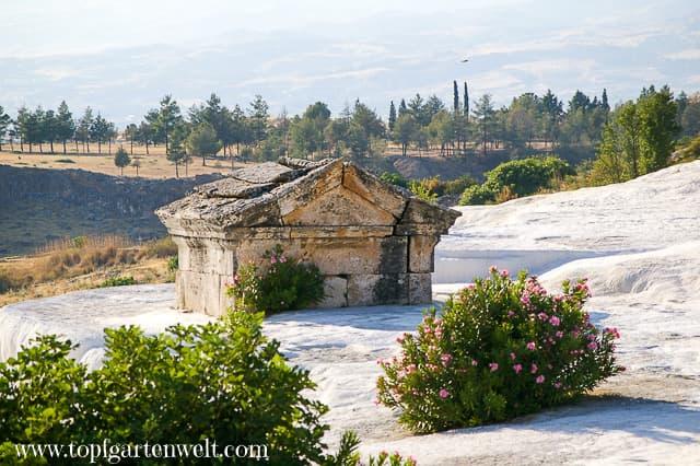 römisches Grabmal in Pamukkale - Foodblog Topfgartenwelt