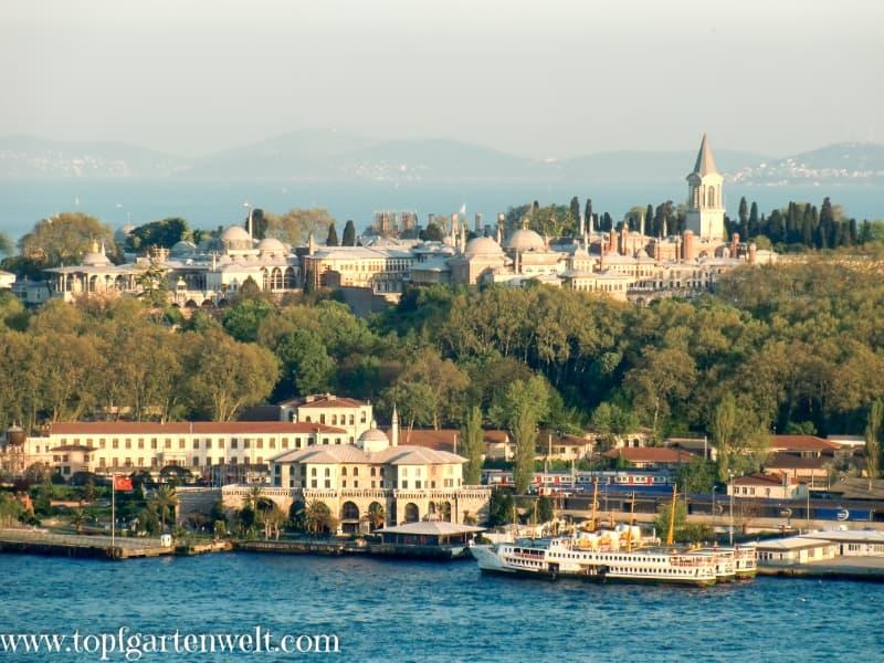 Topkapi-Palast in Istanbul - Foodblog Topfgartenwelt