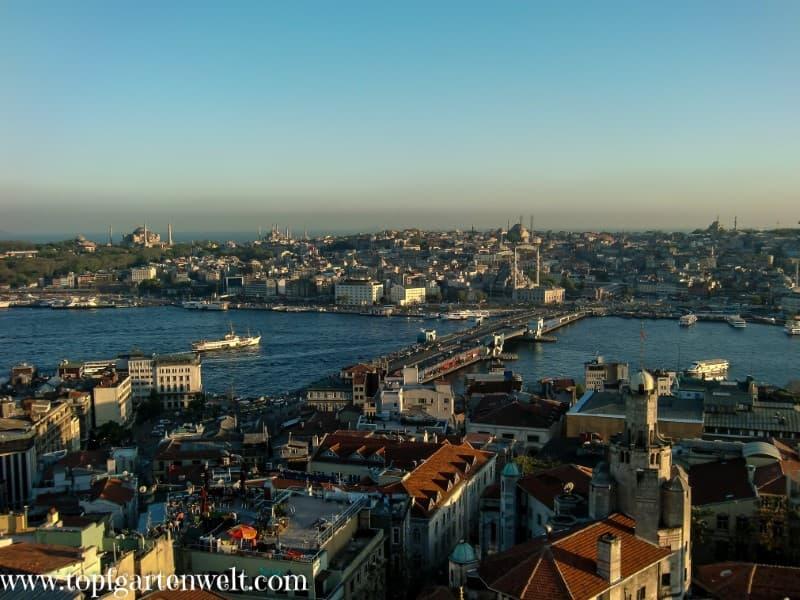Blick auf den Bosporus - Foodblog Topfgartenwelt
