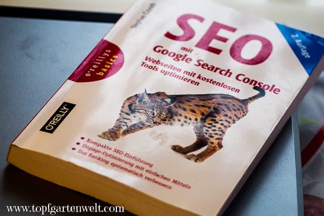 SEO mit Google Search Console - Stephan Czysch - Buchvorstellung - Topfgartenwelt