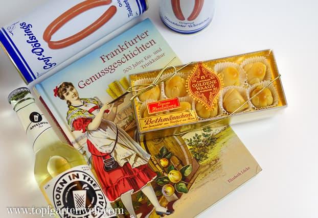 <strong>Frankfurter Genussgeschichten</strong>  Book Cover
