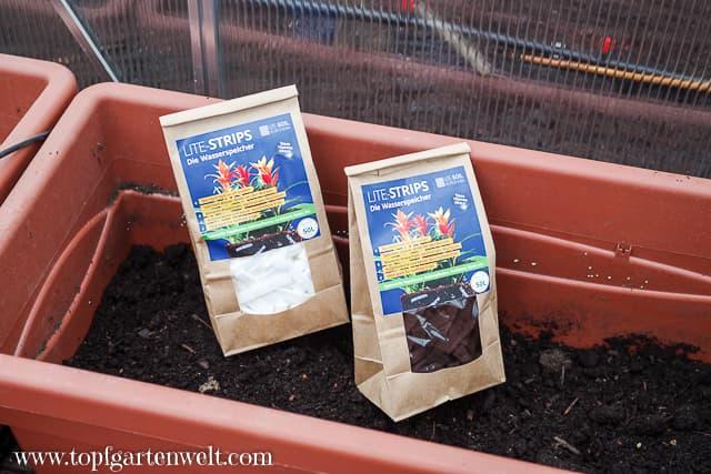 Lite-Strips: Bewässerung ohne Wasseranschluss | Wasser sparen im Garten | Kooperation!