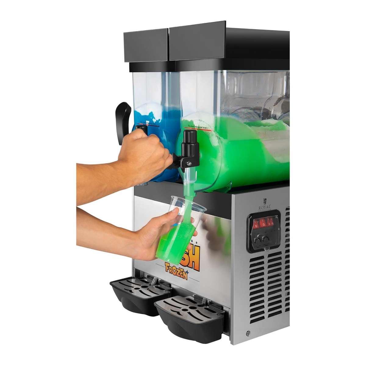 Slush Ice Maschine - Quelle www.expondo.de - Foodblog Topfgartenwelt