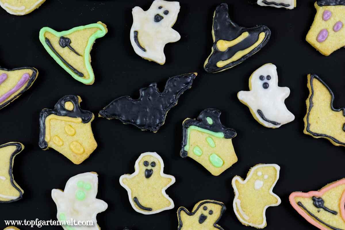 Halloween Kekse backen mit Kindern | schnell und einfach! - Topfgartenwelt
